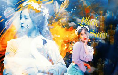 Black Swan - Myoui Mina by NekoCrystal-Chii
