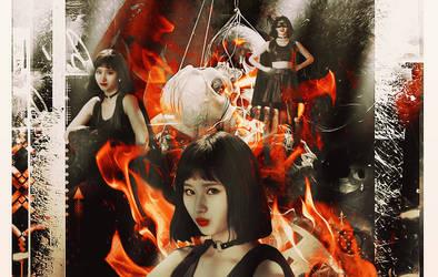 Catastrophe - Minatozaki Sana by NekoCrystal-Chii