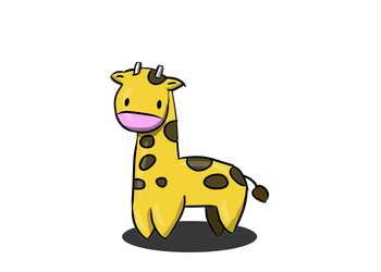 Herman the Giraffe by AceMarchDraws