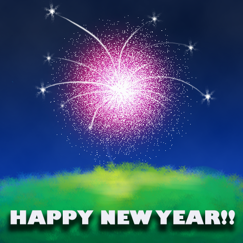 Happy New Year 2019 by AceMarchDraws