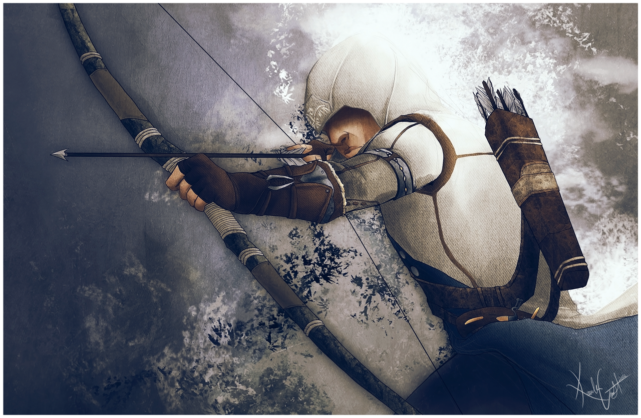 Assassins Creed III by KaelaCroftArt