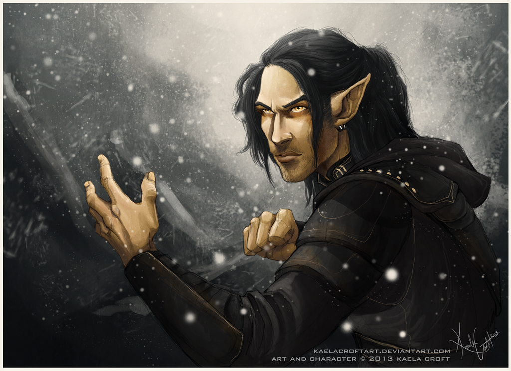 Hunted By The Thalmor by KaelaCroftArt