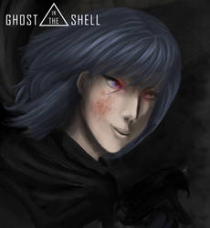 GHOST IN THE SHELL - Motoko kusanagi Fan Art
