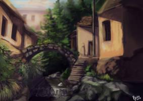Old bridge city