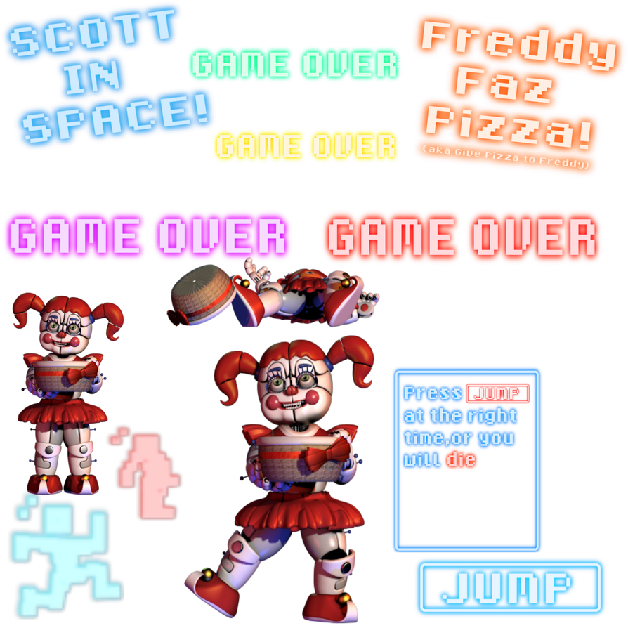 Scott In Space Recourse Pack 2 Free To Use By Fnaf Lover1352 On