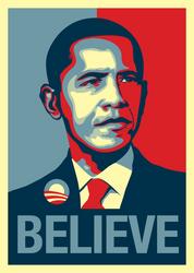 Barack Obama Poster by Kev89