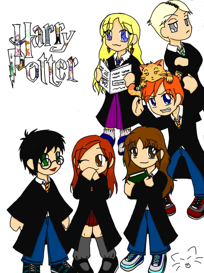 Harry Potter Chibis by ChanChanLee