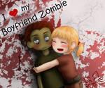 I love my Boyfriend Zombie
