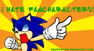 Sonic Hates Fancharacters