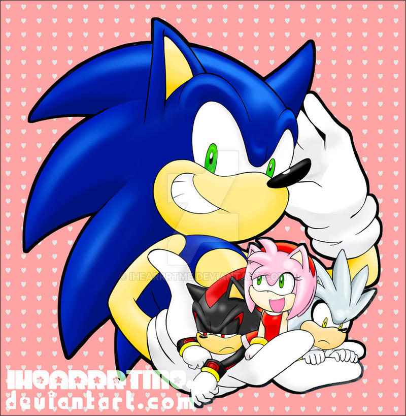 Sonic and the Chibi Hedgehogs by ihearrrtme
