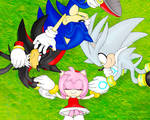 Sonic and Hedgehogs Wallpaper
