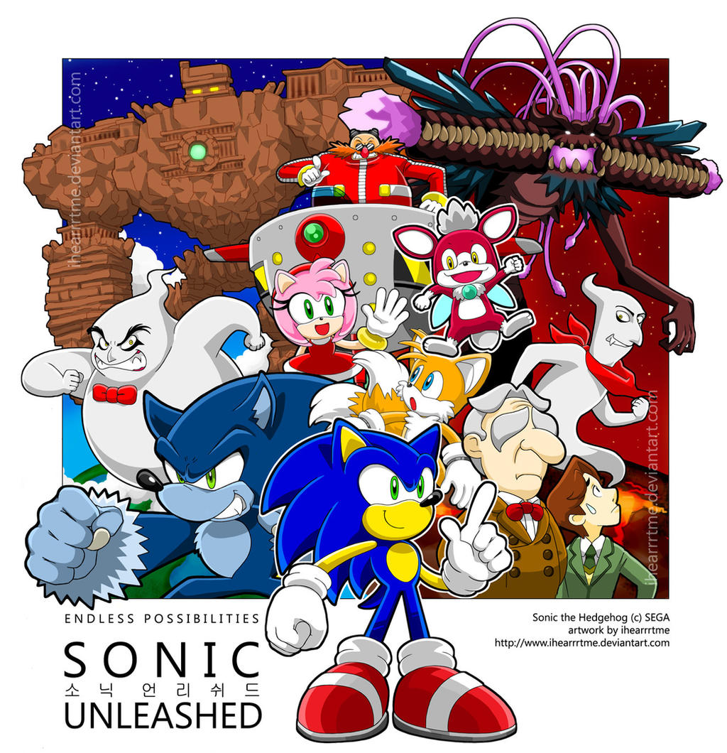 SONIC UNLEASHED Tribute by ihearrrtme on DeviantArt