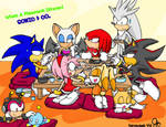 Sonic And Co's Chaotic Dinner
