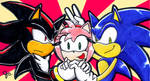 New Sonic, Shadow, Amy