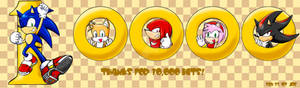 10000 HIT, SONIC AND FRIENDS