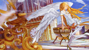 Angel girl by DanEvan-ArtWork