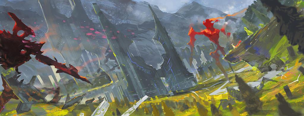 Original plateau by el-zheng