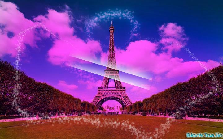 paris wallpaper purple pink - photo #24