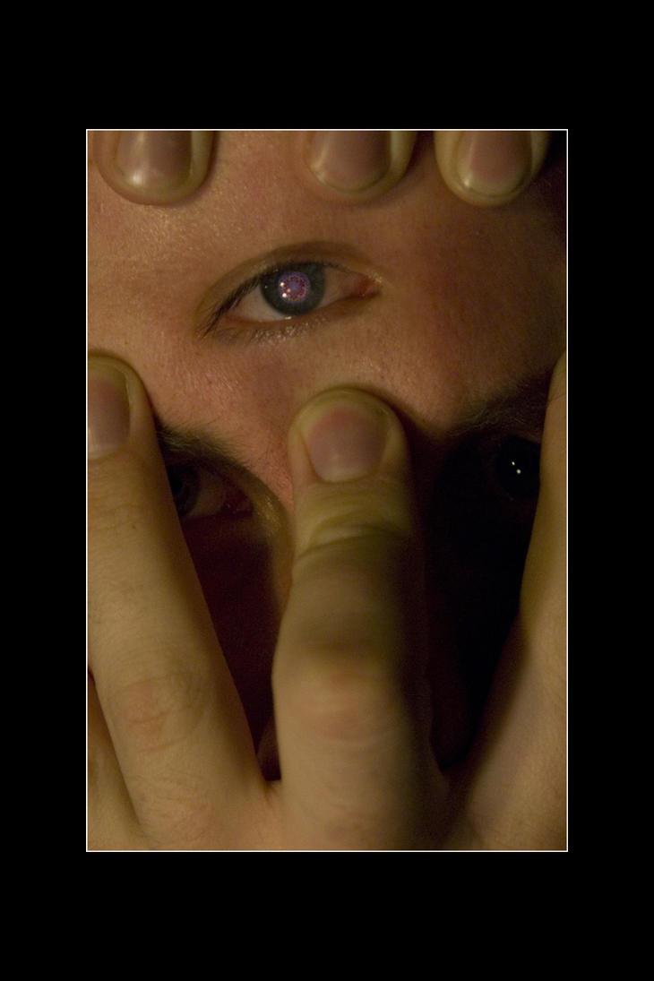 Prying Open My Third Eye. by ShaunJersey