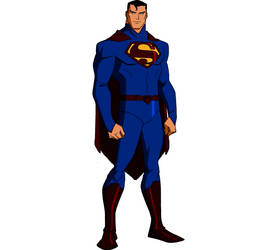 Superman with the new 52 outfit