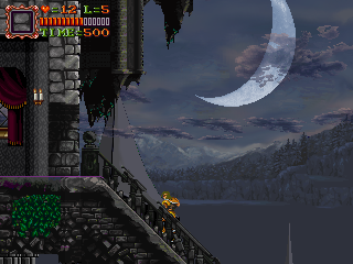 Super Castlevania 3 Fan Game Project Castle Keep1 By PT Ahms