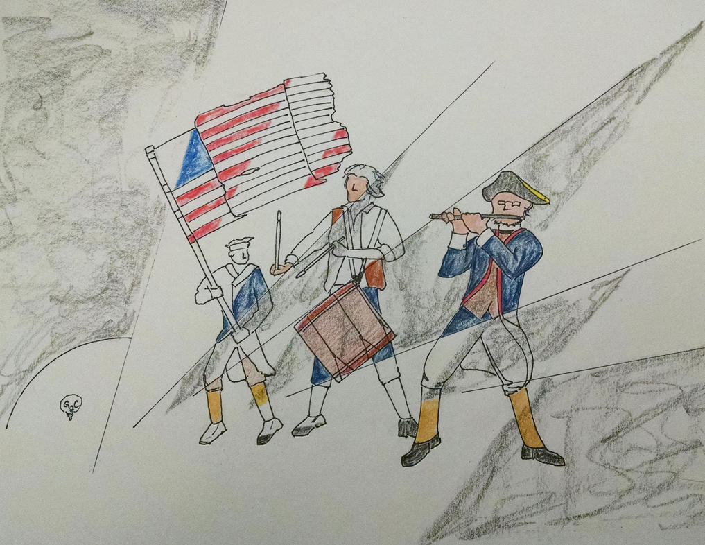 Spirit of 1776 doodle by game2create