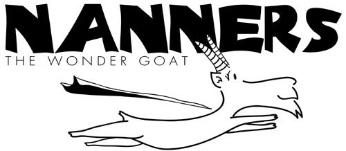 Nanners the Wonder Goat by guaharibo