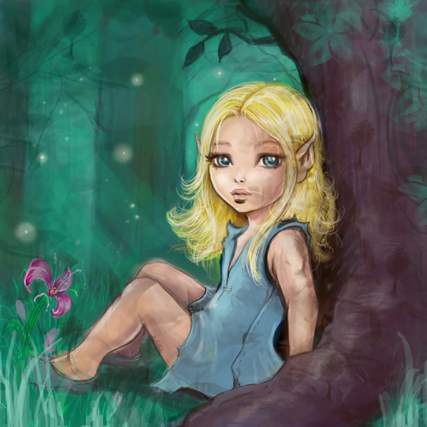 Forest Child by Elf-in-mirror
