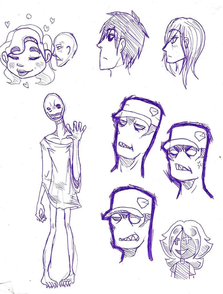 Doodling 1 by zulin333