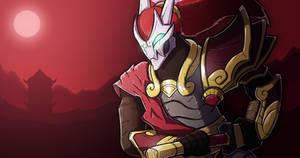 Blood Moon Yasuo (League of Legends) by TheRoseau
