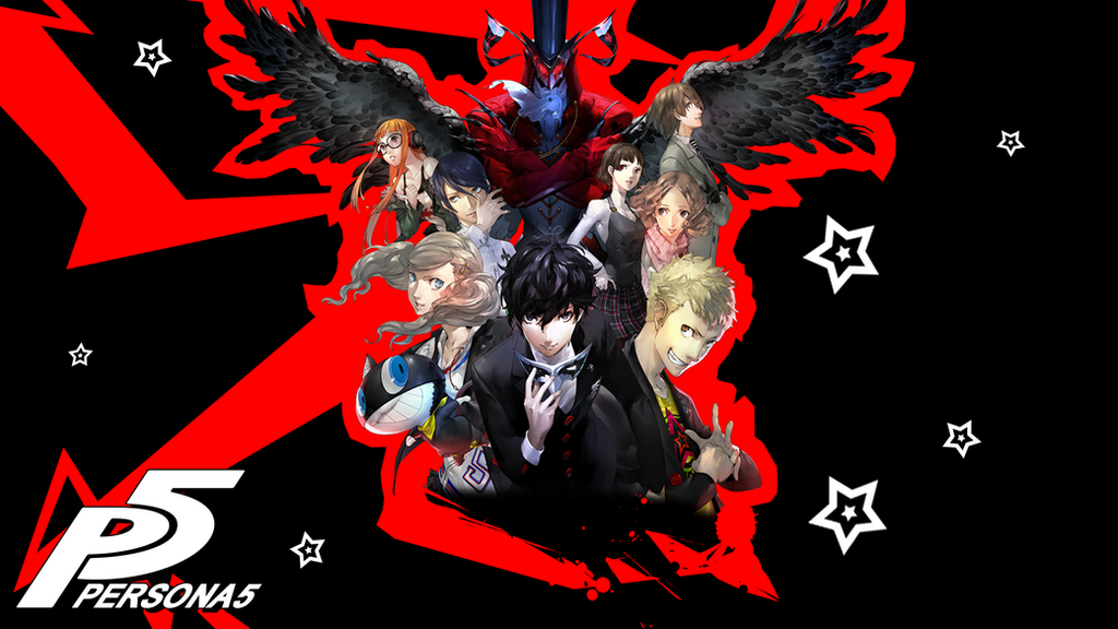 Persona 5 Box Art Wallpaper By SeventhKeyblade