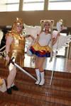 Sailor Moon and Sailor Galaxia
