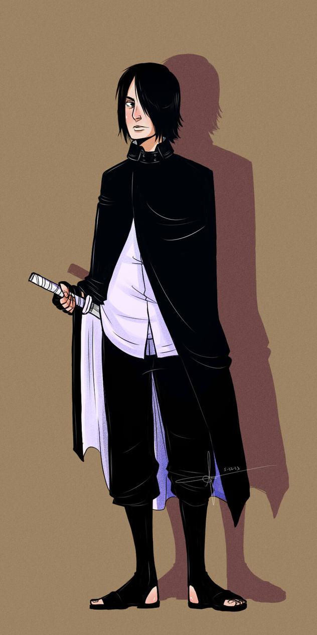 Sasuke Gaiden by Kimbolt-Prime