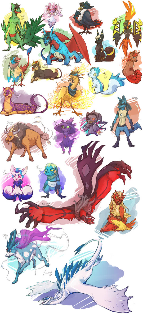 The Conflagration as Pokemon