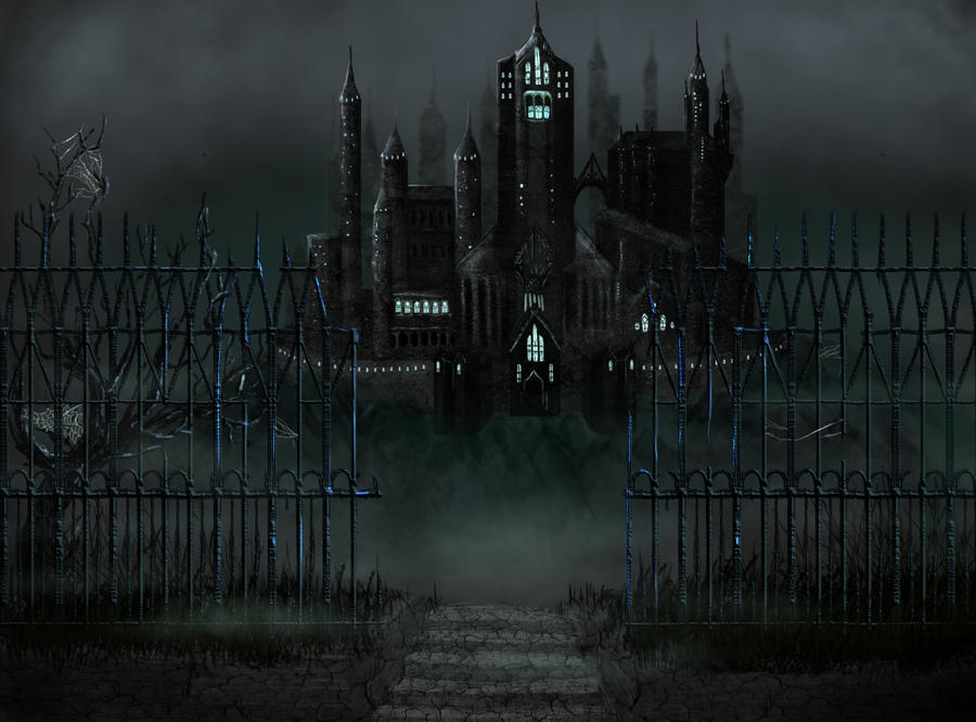 The castle of Doomed Souls by 00Maria00