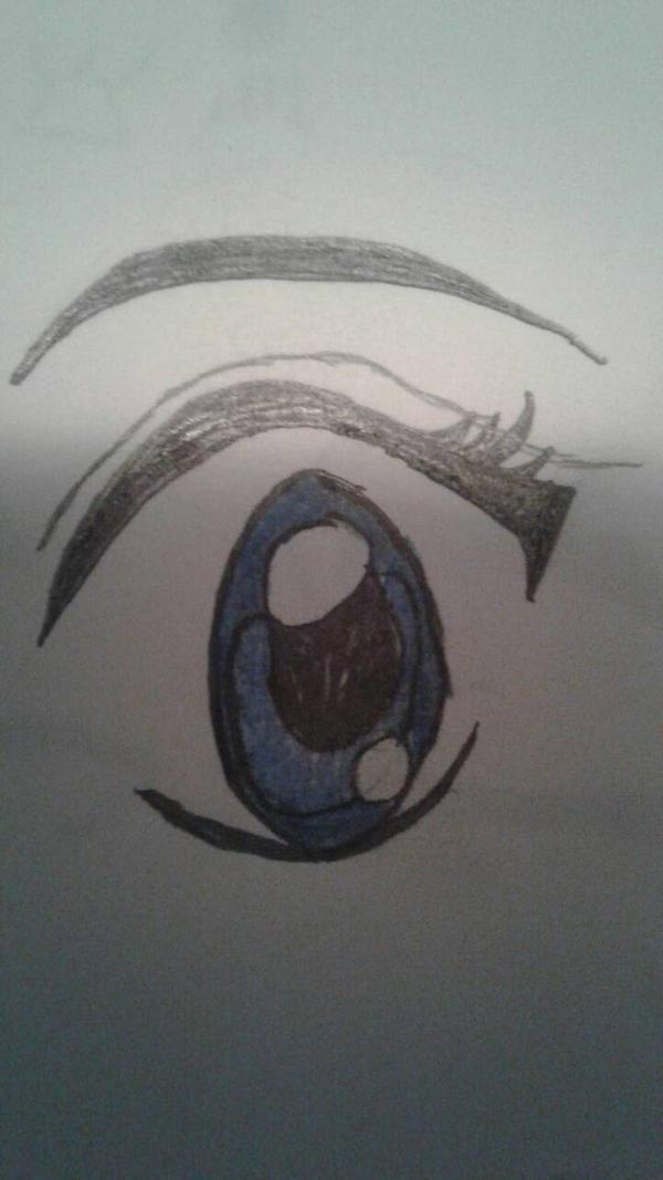 blue eye by celestiandappledash