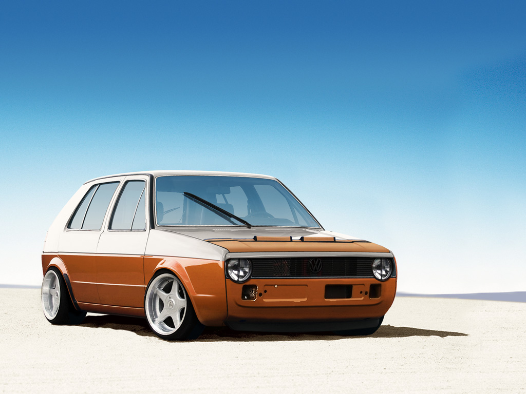 Volkswagen Golf II by wallla