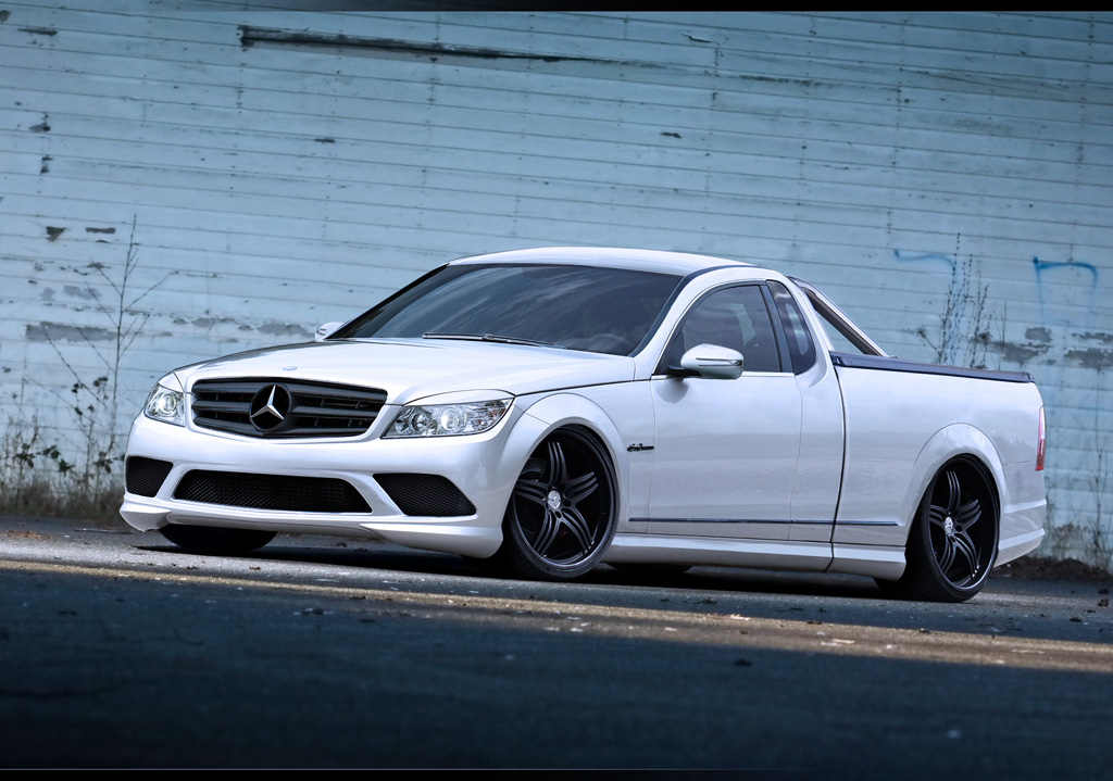 Mercedes C-Class Ute by wallla