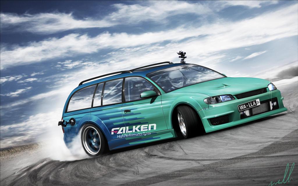 Opel Omega - Falken by wallla
