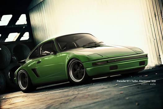 Porsche 911 Turbo 'Slantnose' 930
