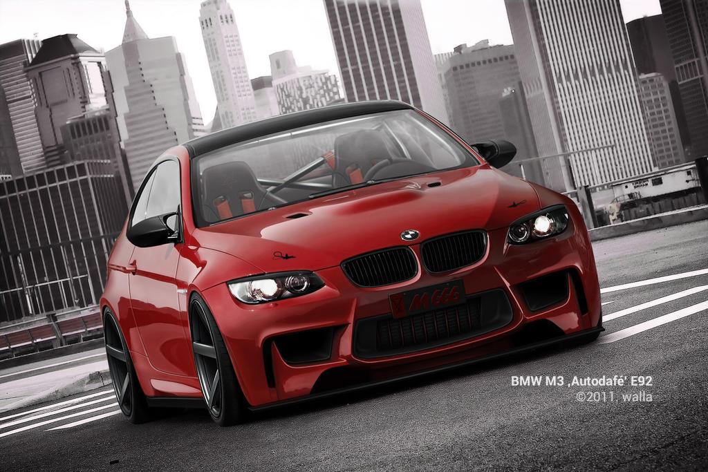 BMW M3 'Autodafe' E92 by wallla
