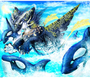 Playing in Emelta seas by the-childofflames