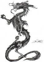 Dragon tattoo by Tagnikzur-clan