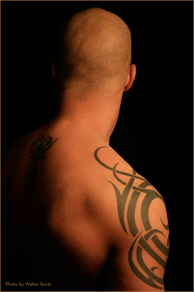 Tribal tattoo - shoulder tattoo