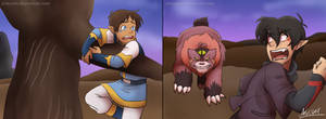 VLD|Klance|Lion King 2 AU|I'll Distract them! by ArtesVeil