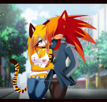 .sabrytiggy4321 commission. by RE-sublimity-kun