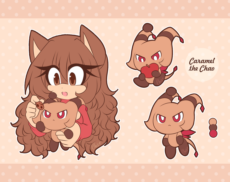 :: Caramel the chao :: by RE-sublimity-kun