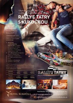 Hotel Kukucka**** advertising Rallye Tatry 2013
