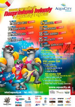 AquaCity Poprad Childrens programme