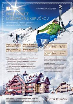 Hotel Kukucka**** advert Winter First Minute 2013